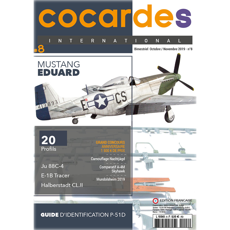 Cocardes International 8 Mustang Eduard