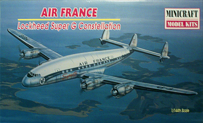 LOCKHEED L-1049C SUPER CONSTELLAION MINICRAFT 1/144