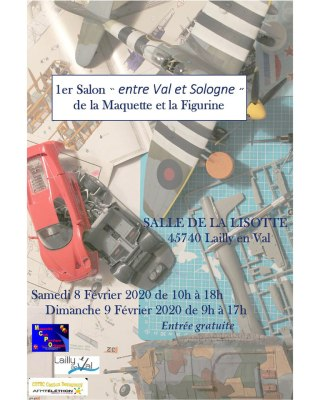 Expo maquettes Lailly en Val