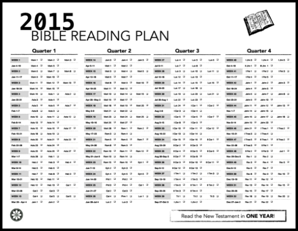 Bible Reading 2015 Brown Street Church Of Christ