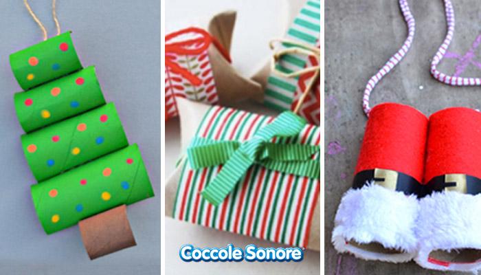 Lavoretti Di Natale Per Bambini Con I Rotoli Di Carta Igienica