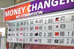un bureau de change sans commission ou sans commision