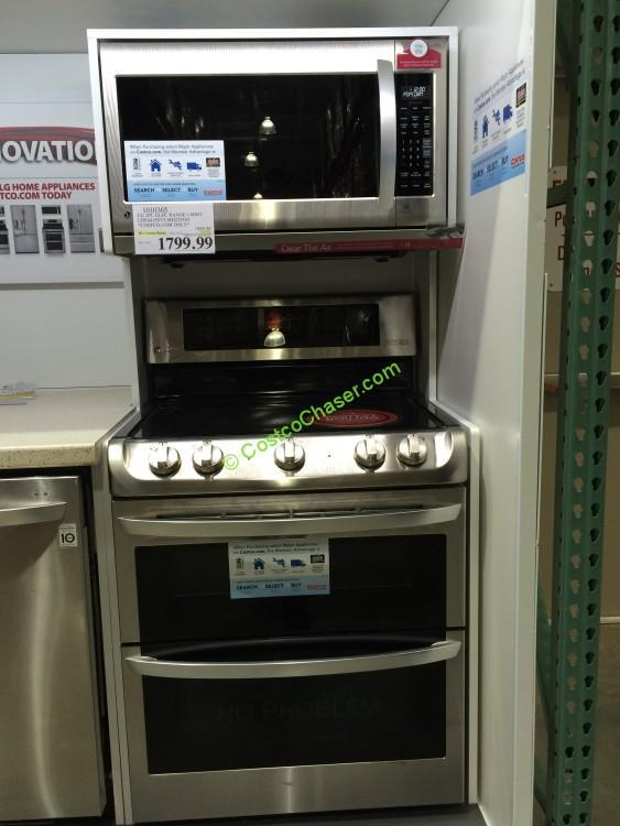lg 2pc stainless steel cooking pair