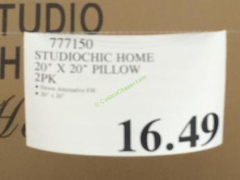 Studio Chic Home Decorative Pillow 2pk Costcochaser