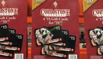 Cold Stone Creamery Discount Gift Card