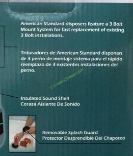 American Standard 1 25 Hp Food Waste Disposer Costcochaser