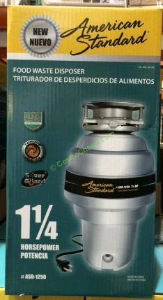 American Standard 1 25 Hp Food Waste Disposer Costcochaser