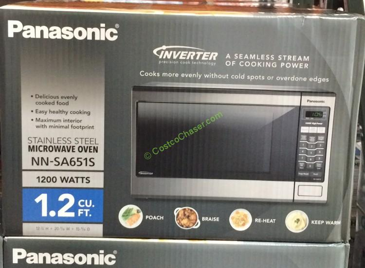 panasonic nn sa651s microwave oven 1 2