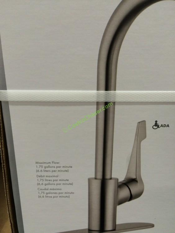 hansgrohe cento pull down kitchen