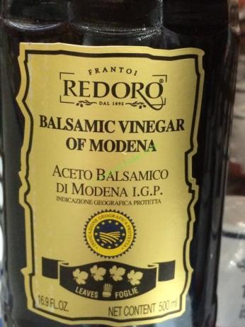 Redoro Balsamic Vinegar Of Modena 500 Milliliter Bottle