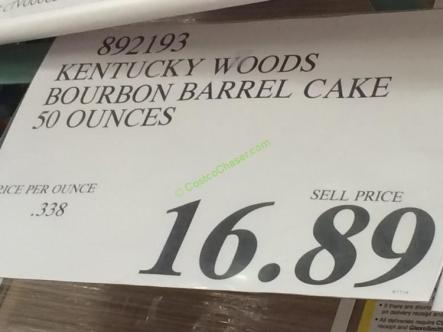 Kentucky Bourbon Barrel Cake Recipe