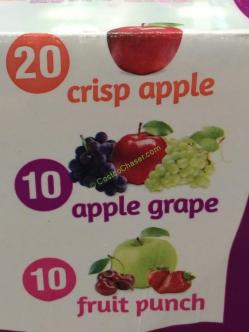 Kirkland Signature Organic 100 Juice Box 40 6 75 Ounce