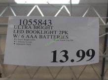 Costco-1055843-Ultra-Bright-LED-Booklight-tag