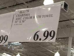 Costco-664179-Charisma-Asst-Color-Bath-Towel-tag