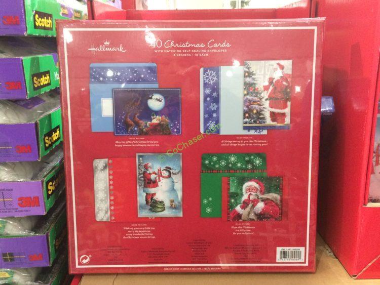 Hallmark Christmas Cards 40 Count CostcoChaser