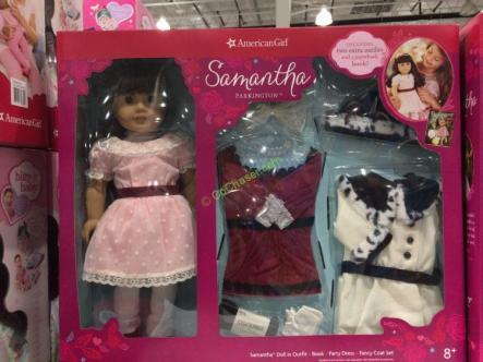 Costco-1053341-American-Girl-Samantha-Parkington-18Inch-Doll-Set