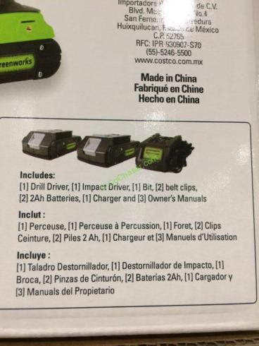 Costco-709992- Greenworks-24V-Drill-Driver-Impact-Driver-Combo-inf