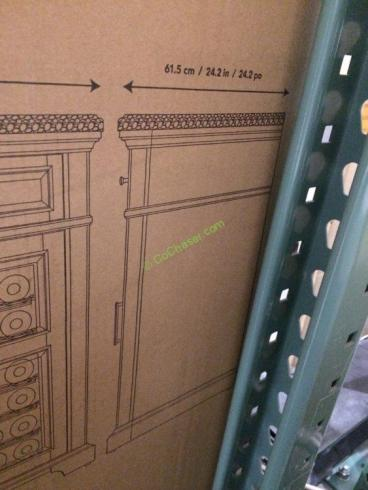 Tresanti Wine Cabinet With 24 Bottle Cooler Costcochaser