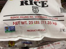 Homai Calrose Rice 25 Pound Bag Costcochaser