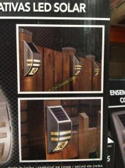 Paradise Solar Led Accent Lights 4 Pk Costcochaser