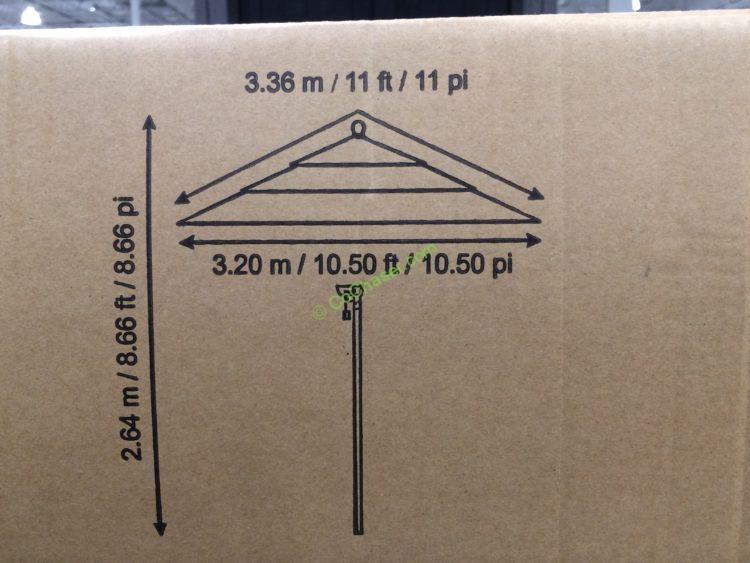 proshade 11 market umbrella with