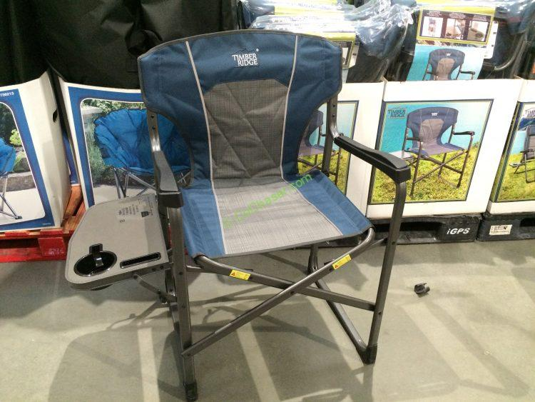 Westfield Outdoors Timber Ridge Director/'s Chair with Side Table