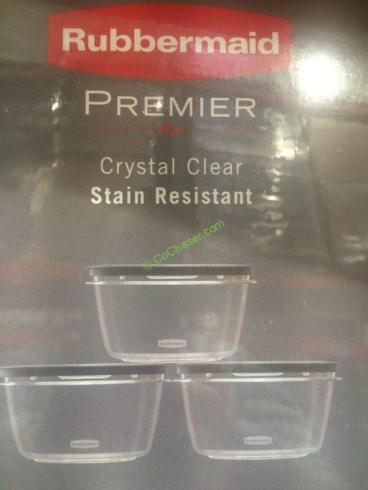 Costco-1112209-Rubbermaid-Premier-Crystal-Clear-Food-Storage-Set-spec