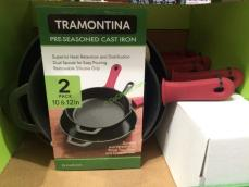 Costco-1136435-Tramontina-Pre-seasoned-Cast-Iron-Skillet-Set-box