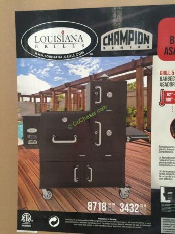 Louisiana Grills Champion Pellet Grill, Model#61500 – CostcoChaser