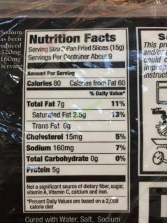 Kirkland Signature Low Salt Sliced Bacon 4 1 Pound Packages Costcochaser
