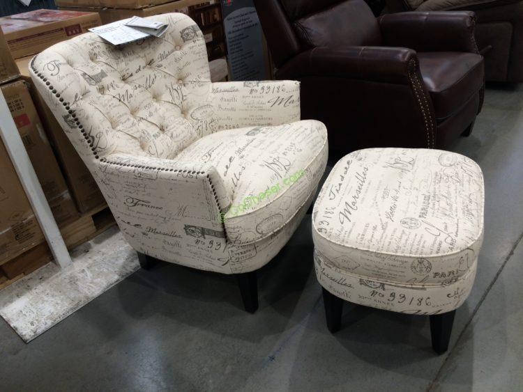 pulaski furniture fabric accent chair