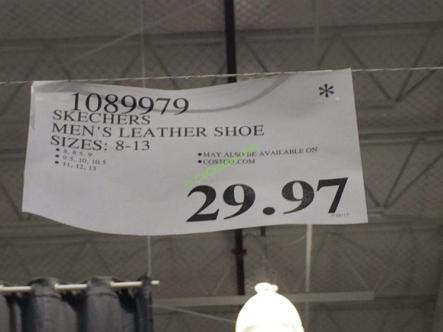 Costco-1089979-Skechers-Mens-Leather-Lace-up-Shoe-tag