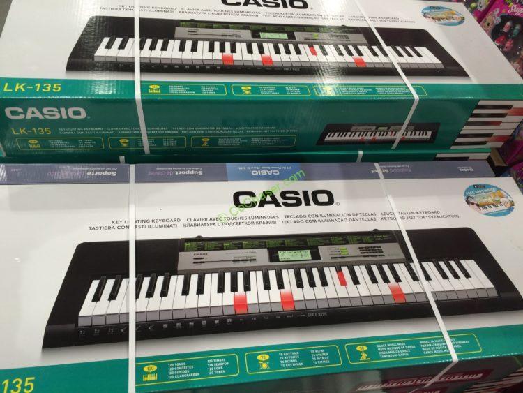 Casio 61 Lighted Key Keyboard Model Lk 135st Costcochaser