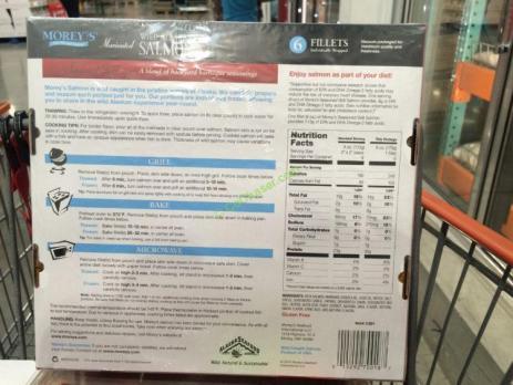 Morey S Wild Alaskan Salmon 2 25 Pound Box Costcochaser