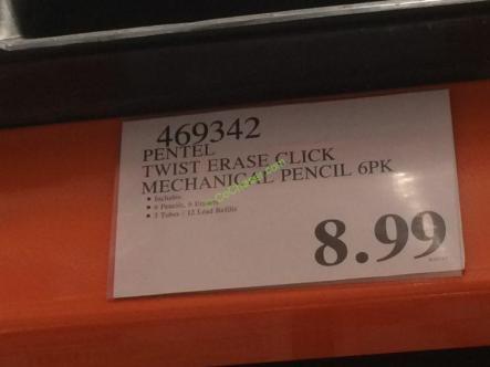 Costco-469342-Pentel-Twist-Erase-Click-Mechanical-Pencil-tag