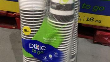 Dixie-To-Go 12 OZ Perfect Touch 100 CT Cups with lid