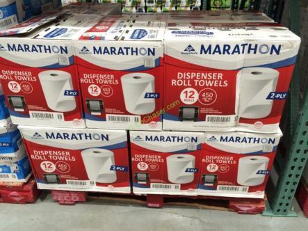 Marathon Ultra 2 Ply Roll Towel 12 Rolls Costcochaser