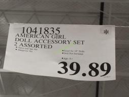 Costco-1041835-American-Girl-Doll Accessory-Set-tag