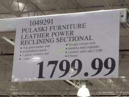 Costco-1049291-Pulaski-Furniture-Leather-Power-Reclining-Sectional-tag
