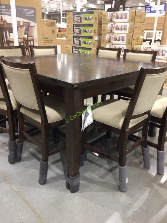 Costco 1074666 Pulaski Furniture 9PC Counter Height