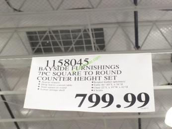 Costco-1158045-Bayside-Furnishings-7PC-Square-to-Round-Counter-Height-Set-tag