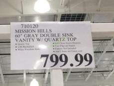 Costco-710120- Mission-Hills 60-Gary-Double-Sink-Vanity-tag