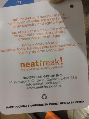 Costco-1103120-Neatfreak-2PK-Metal-Frame-hanper-spec