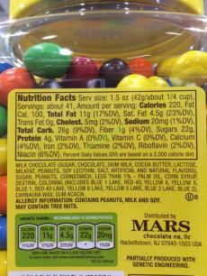 Costco-1199479-Mars-Chocolate-Peanut-M –M-chart