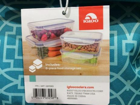 Costco-1187283- IGLOO-Party-Basket-8PC-Plasticware-Set-3