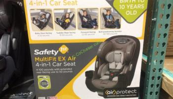 Dorel Juvebile Group Safety 1st MultiFit 4 In 1 Car Seat ModelCC204EPIC