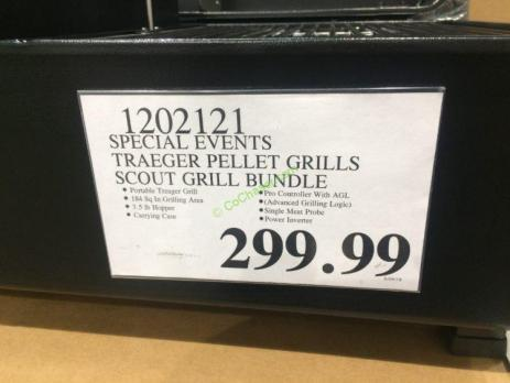 Special Events Traeger Pellet Grills Scout Grill Bundle Model Tfs81pzd Costcochaser