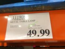 Costco-111908-Utterrmost-Meatal-Table-Lamp-tag
