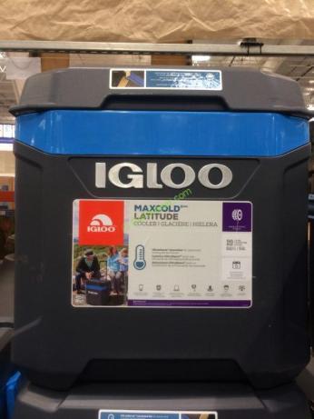 Igloo Maxcold 62qt Wheeled Cooler Costcochaser