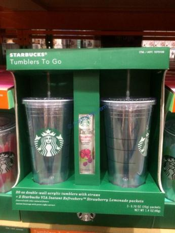 Starbucks 20oz Acrylic Tumbler 2pk Costcochaser